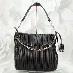 Jessica Simpson Becca Ruched Shoulder Handbag